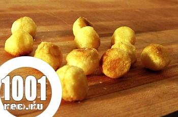 Вегетаріанські котлети з картоплі і сиру