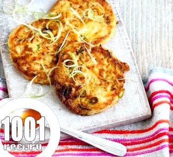 Вегетаріанські котлети з тофу
