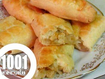 Вертута з вареною картоплею
