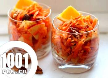 Весняний салат барбарисками