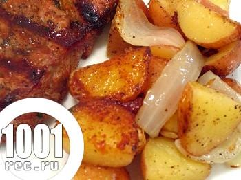 Смачна картопля на грилі