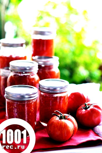 Заготовки з помідор на зиму в аерогрилі