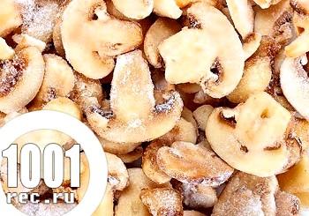 Замороження грибів на зиму