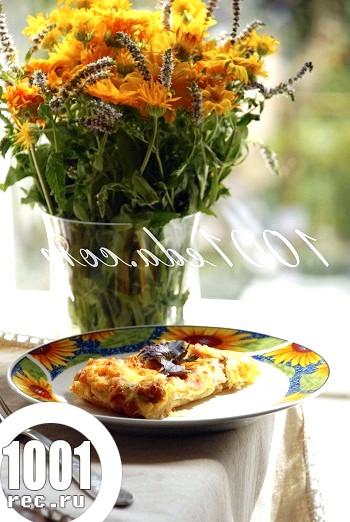 Запіканка з листкового тіста з шинкою для сніданку: рецепт з покроковим фото