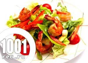 Фото - салат з креветками